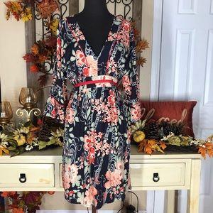 Lucky brand| women's fall floral dress